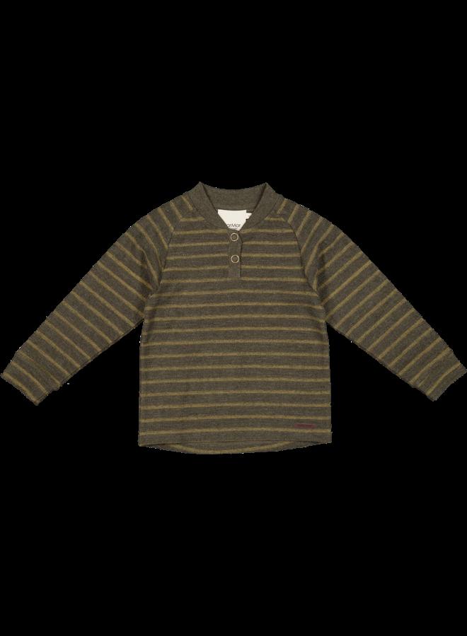 MarMar | teis | shirts/tops | dark mustard stripe