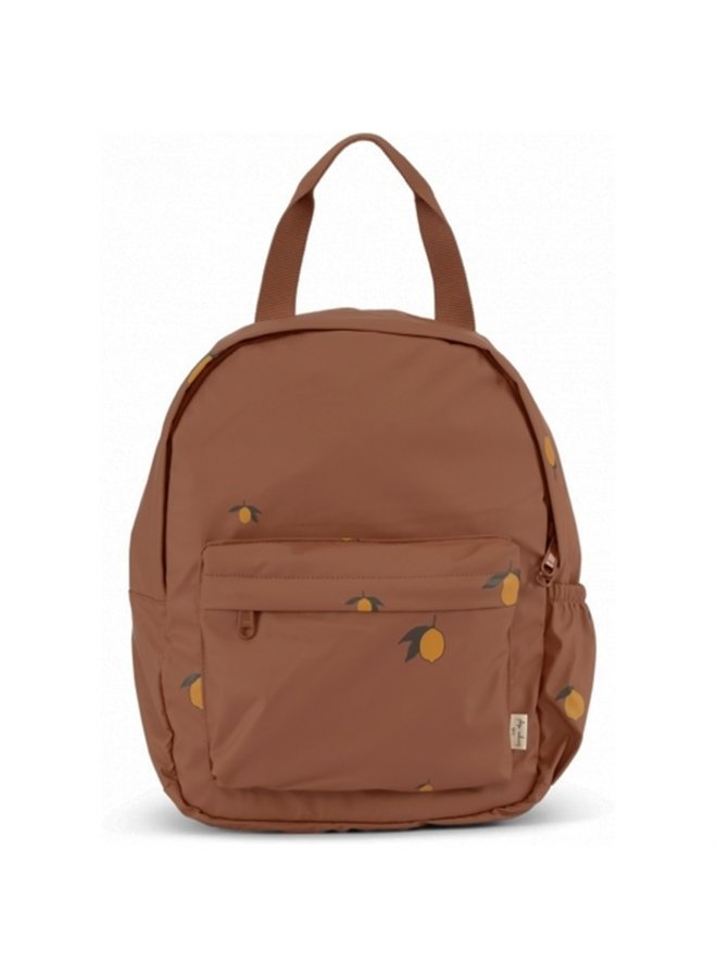 Konges slojd   rain kids backpack mini deux   lemon brown