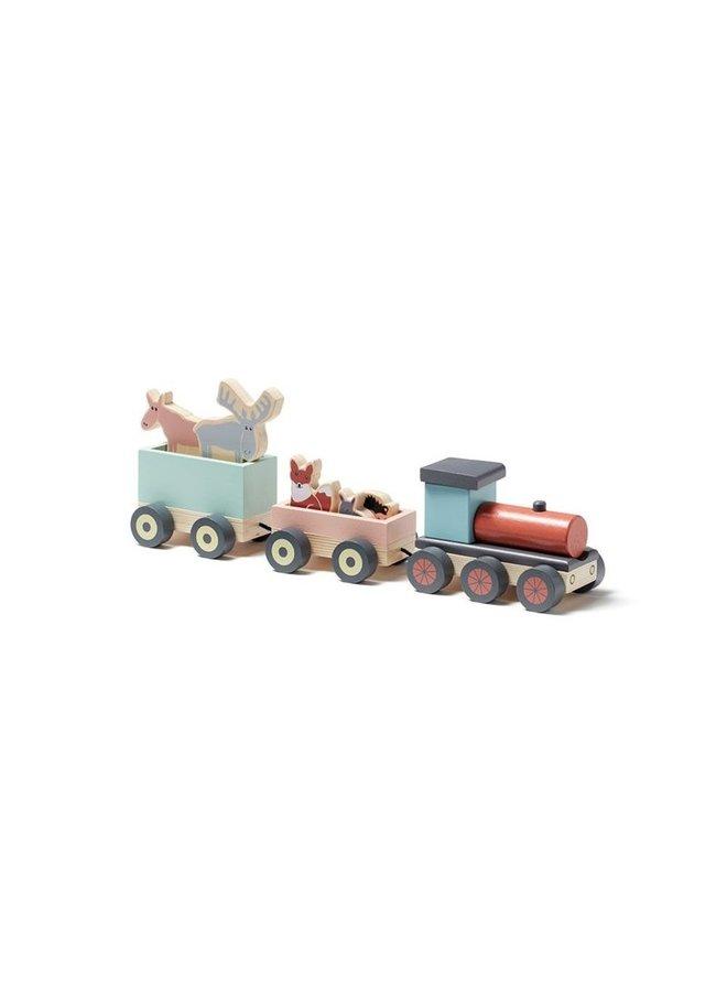 Kid's Concept | speeltrein met diertjes