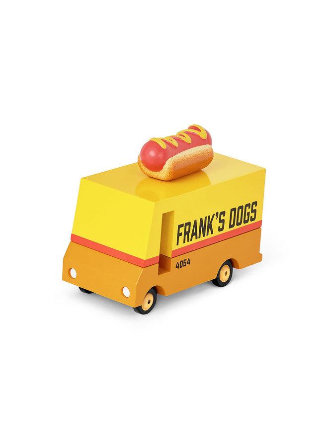 Candylab   candyvan   hot dog van