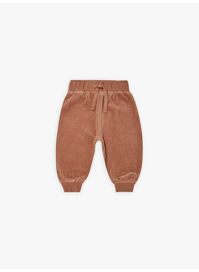 Quincy Mae | relaxed sweatpants | clay