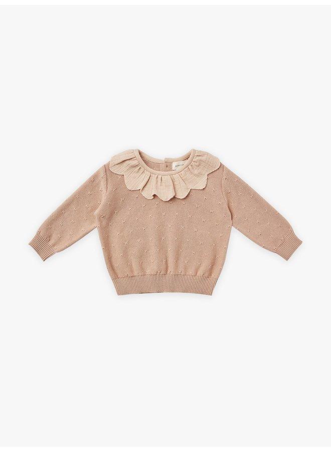 Quincy Mae   petal knit sweater   petal