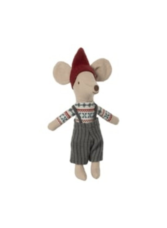 Maileg   christmas mouse in box   big brother