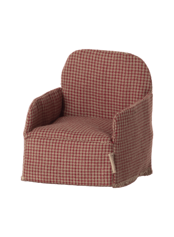 Maileg | chair red | mouse