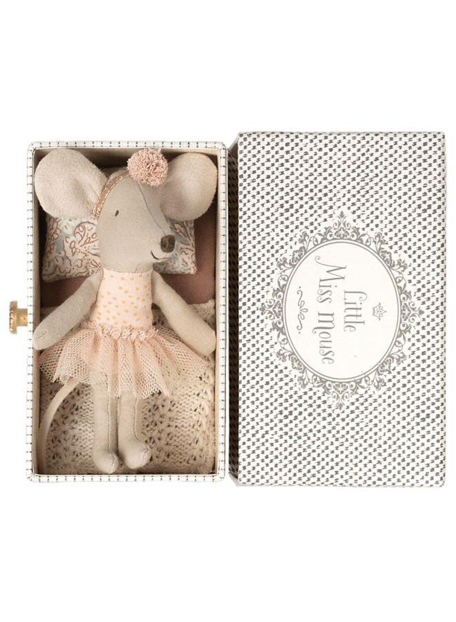 Maileg | dance mouse in daybed | little sister
