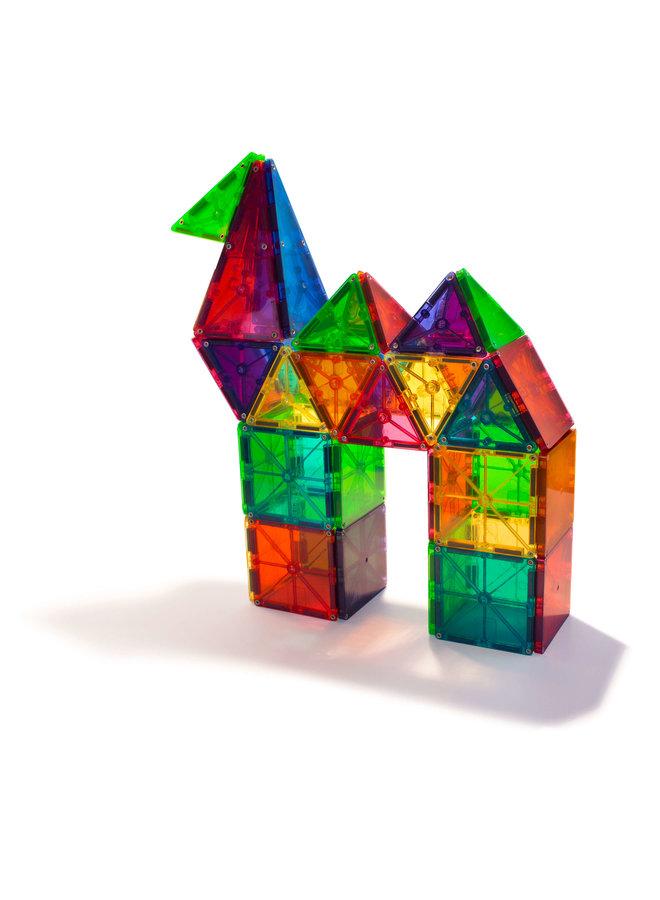 Magna-Tiles | clear colors | 100 stuks