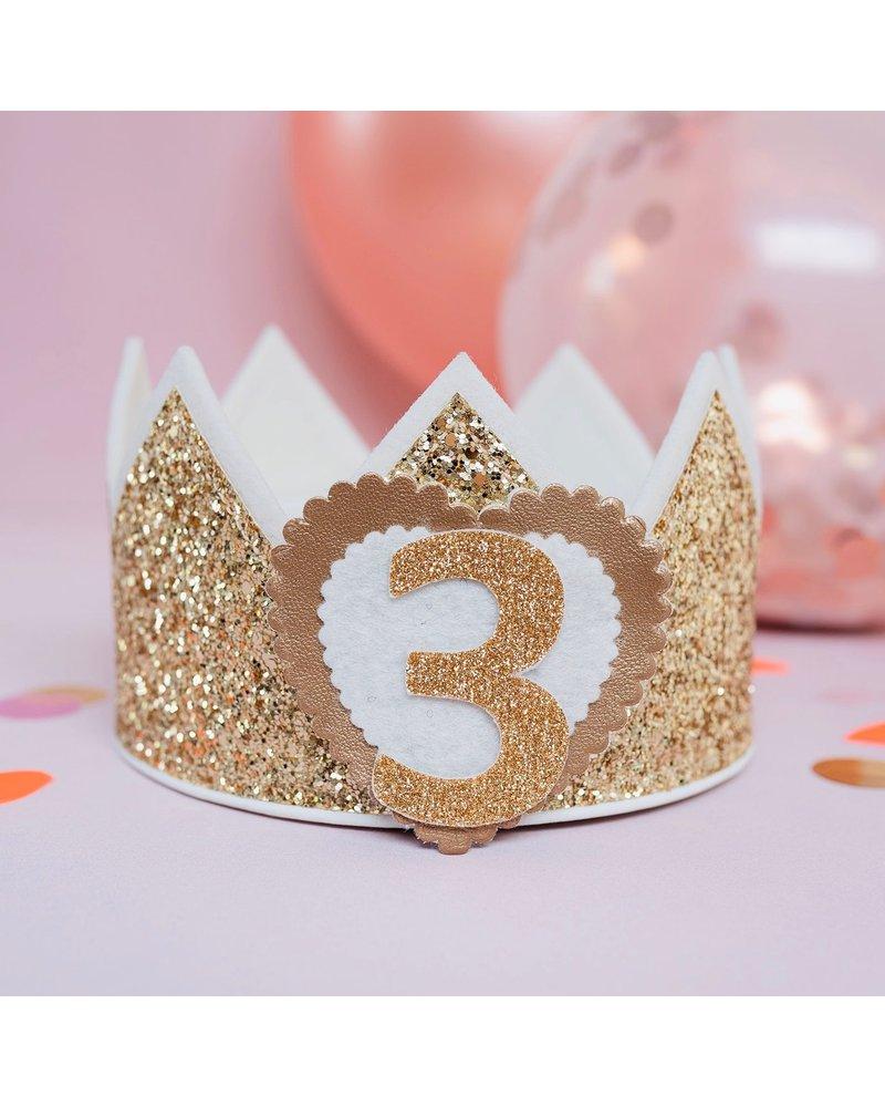 Cijfers en hartje voor de Glitter Classic