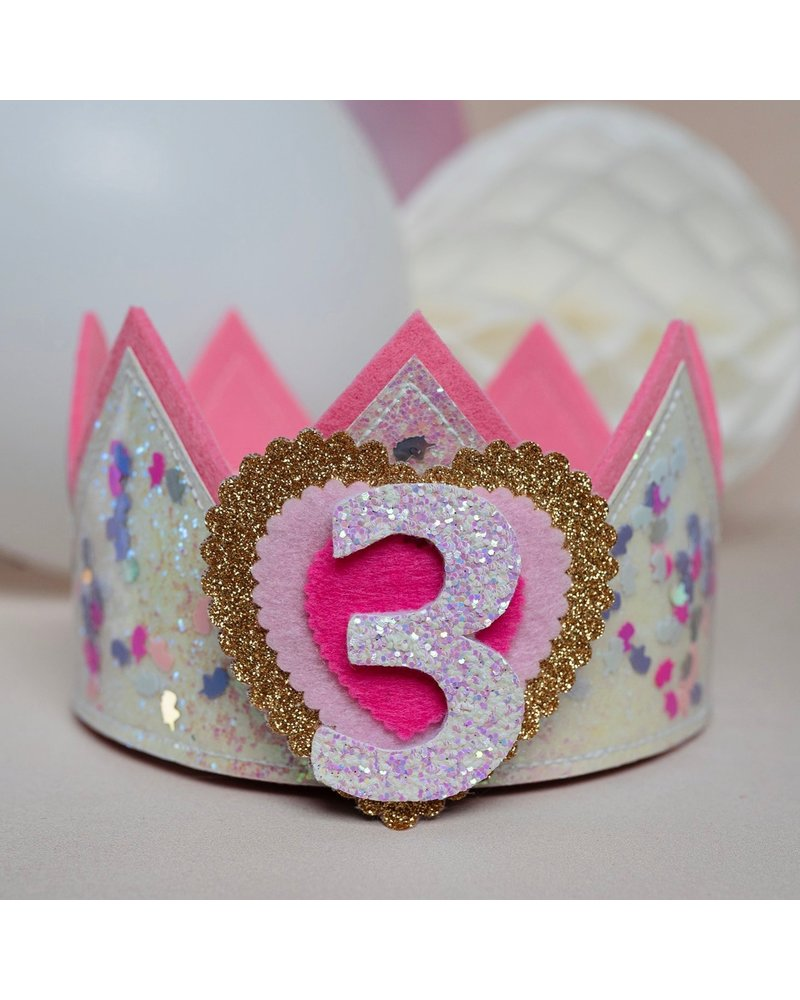 Verjaardagskroon Confetti Unicorn