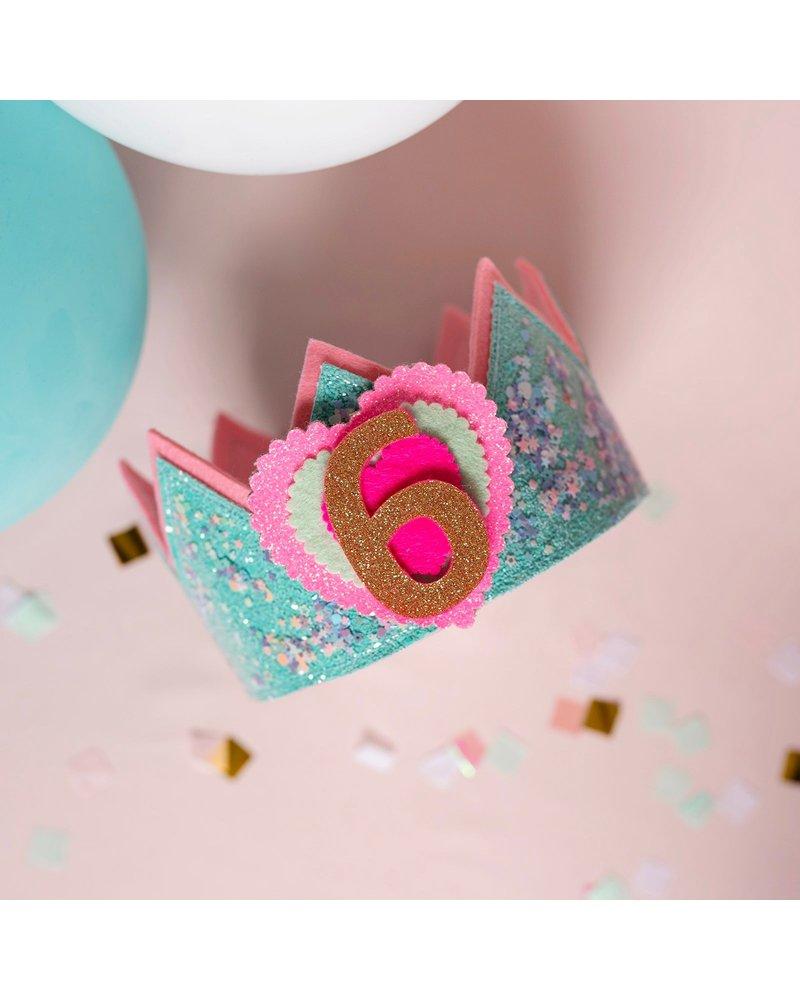 Verjaardagskroon Confetti Pretty Pastel