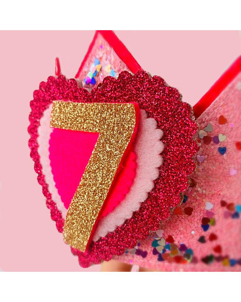 Cijfers en hartje voor de Confetti Little Heart