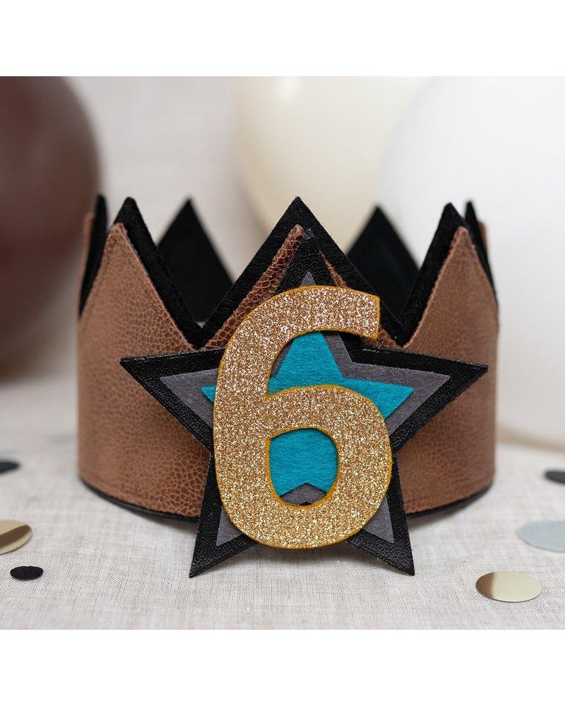 Cijfers en ster voor de Stoer Leather kroon
