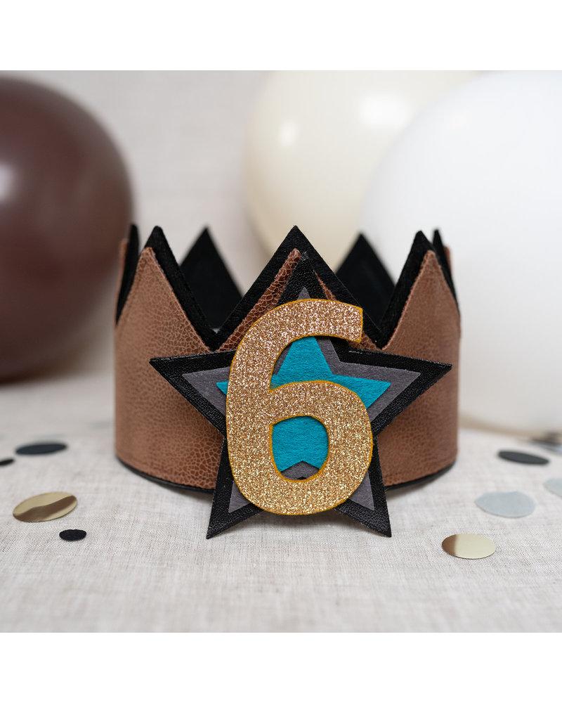 Verjaardagskroon Stoer Leather