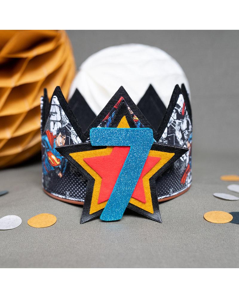 Cijfers en Sterren Superhero kroon