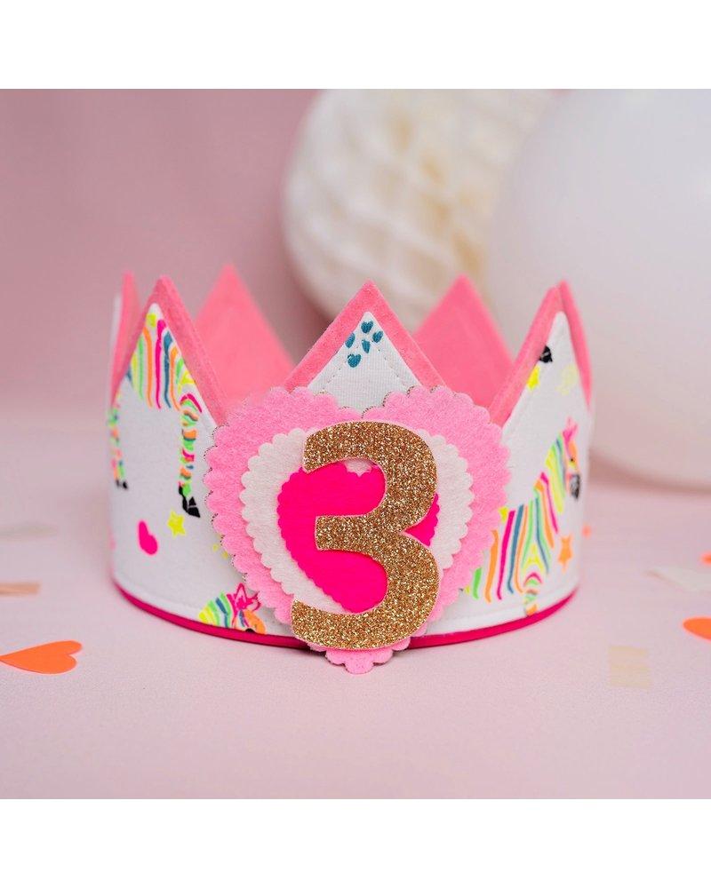 Cijfers en hartje voor de Happy Summer kroon