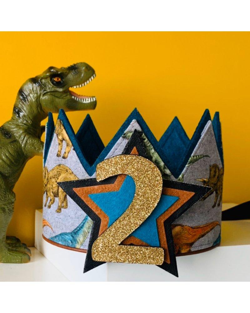 Cijfers en ster voor de Stoer Dino kroon