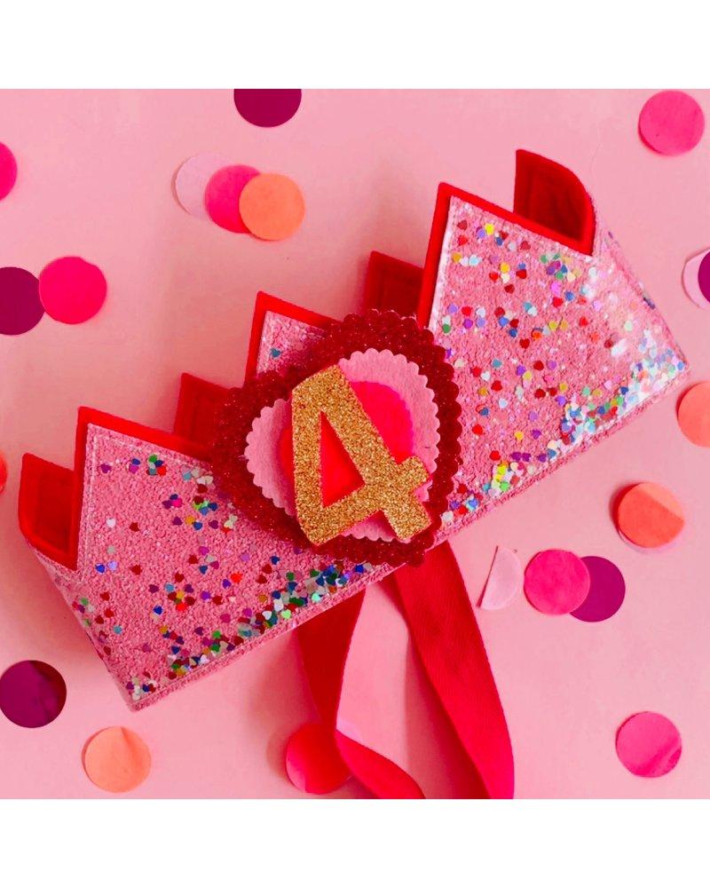 Verjaarsdagskroon Confetti Little Heart