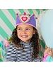 Verjaardagskroon Glitter Purple