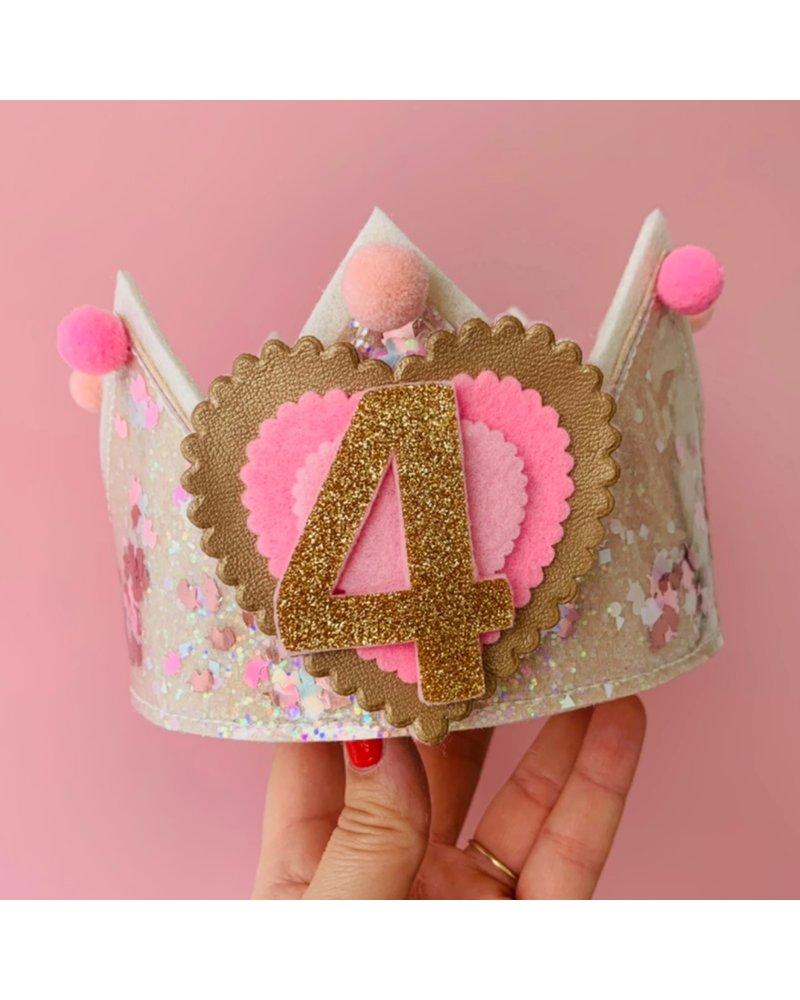 Verjaardagskroon Confetti Sweet Pompon