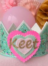 Confetti Little Heart mint/zacht groen