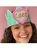 Verjaarsdagskroon Confetti Little Heart mint/zacht groen
