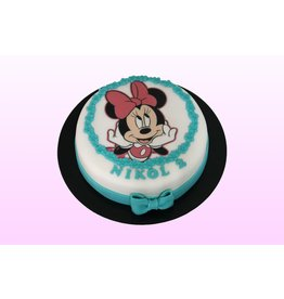 1: Sweet Planet Minnie mouse fotoprint Model 2