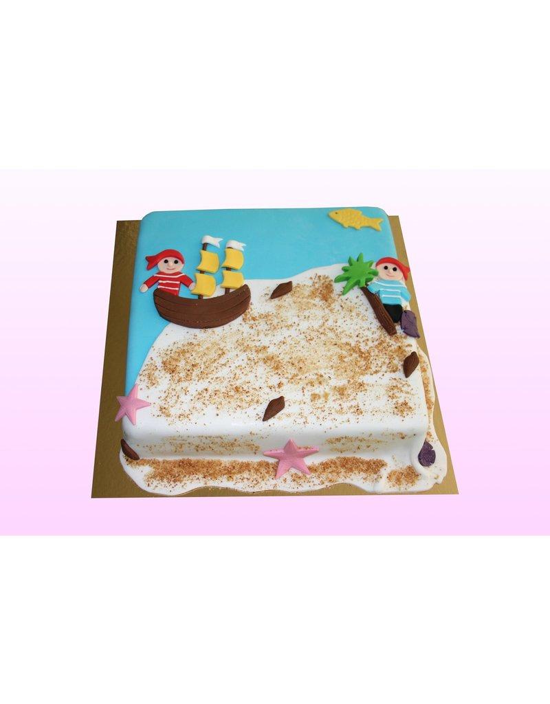 1: Sweet Planet Piraten taart