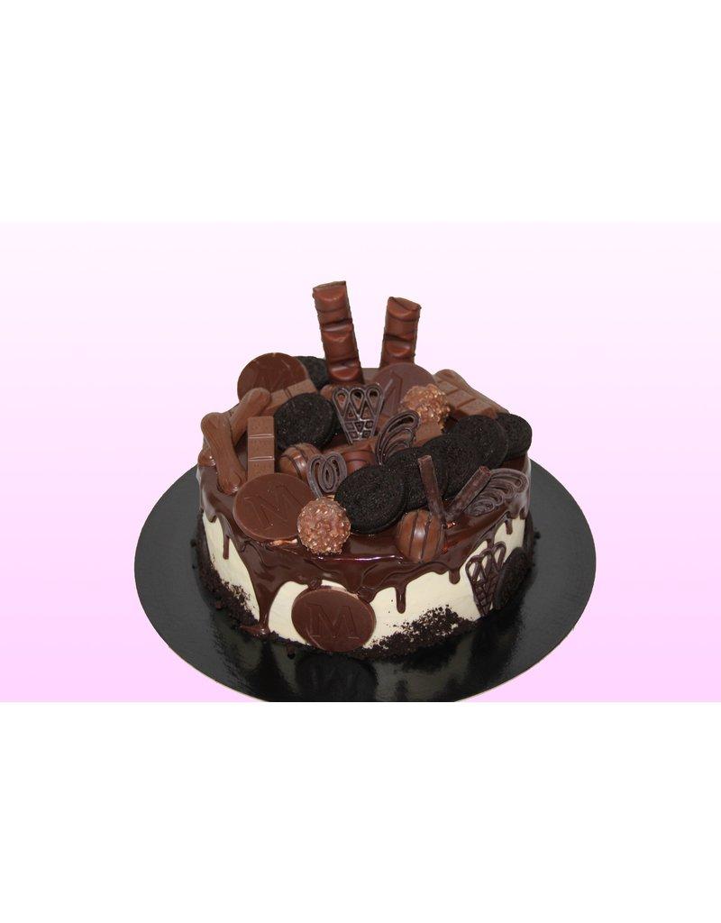 1: Sweet Planet Chocobom chocolade taart