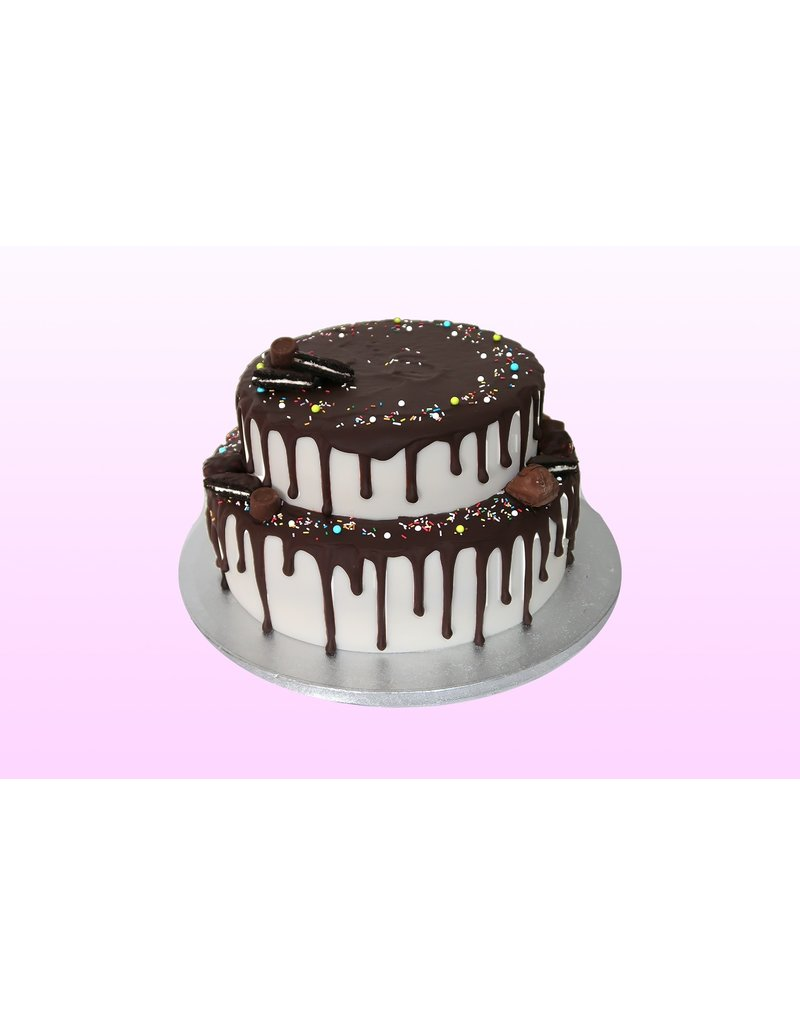 1: Sweet Planet Chocolade drip taart