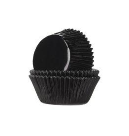 House Of Marie Cupcakecup zwart folie 24st