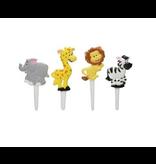 2: Sweet Store Safari dieren prikkers 12 stuks