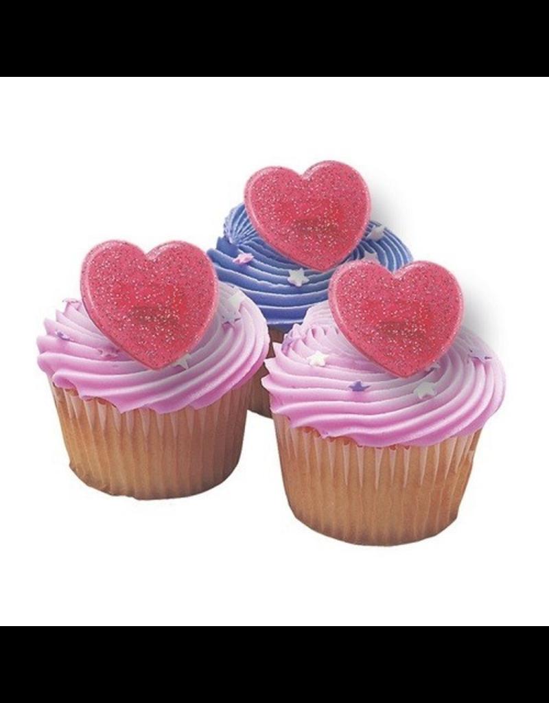 2: Sweet Store Harten ring rood 12 stuks