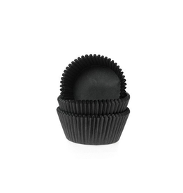 House Of Marie Cupcakecup zwart mini 490 st
