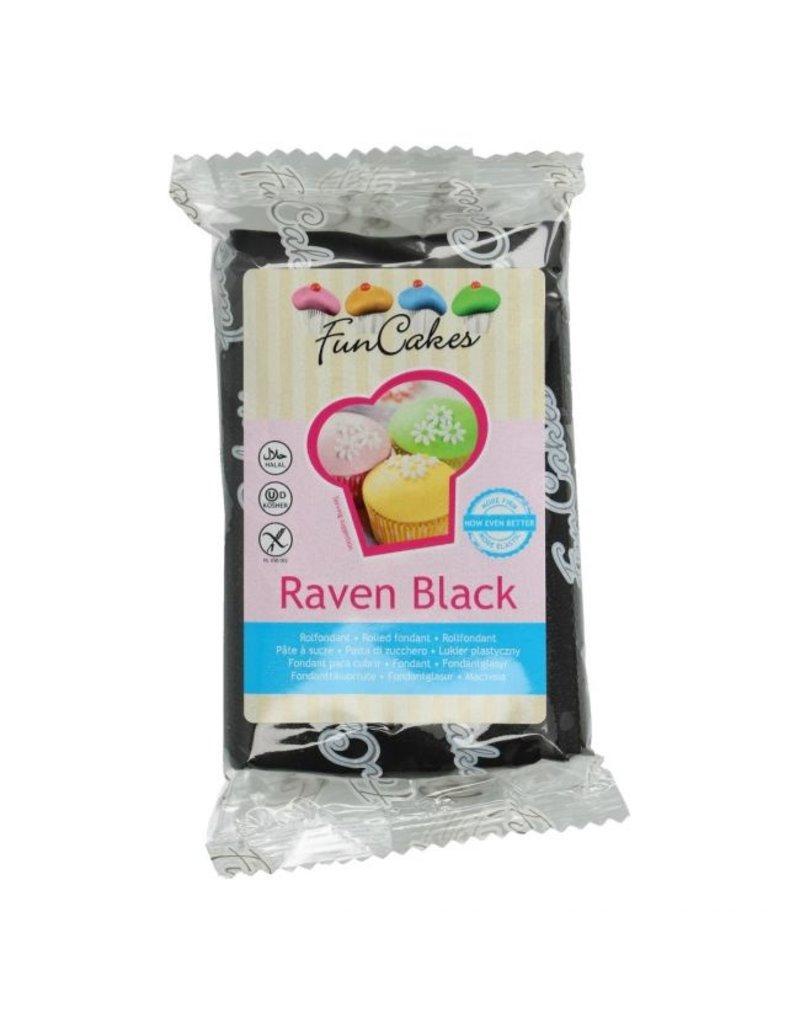 FunCakes Fondant raven black