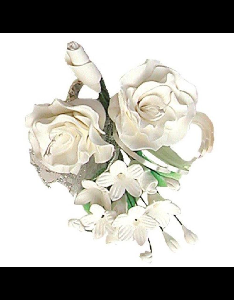 Suikerbloem boeket wilde roos