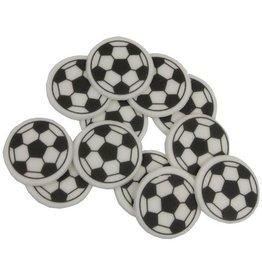 2: Sweet Store Voetbal schildjes 12 stuks