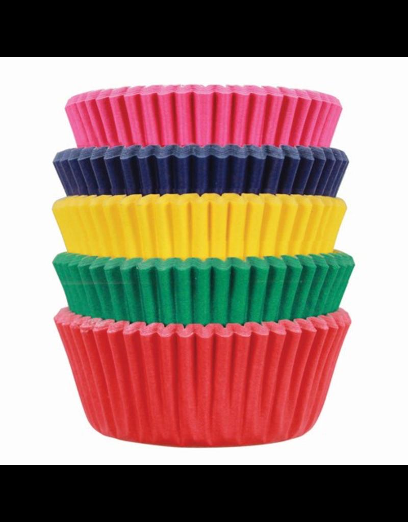 PME Cupcakecup mini carnival kleuren 100 stuks