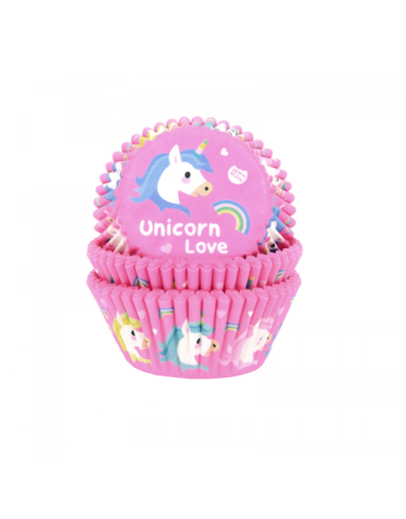 House Of Marie Cupcakecup unicorn 50st