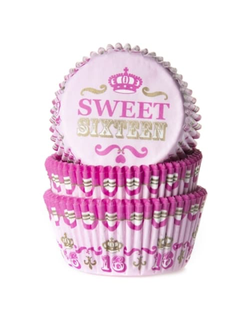 House Of Marie Cupcakecup sweet sixteen 50st