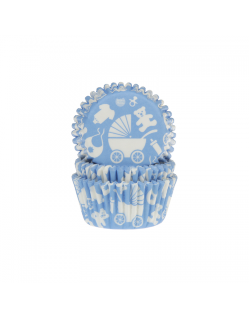 House Of Marie Cupcakecup baby blauw 50st