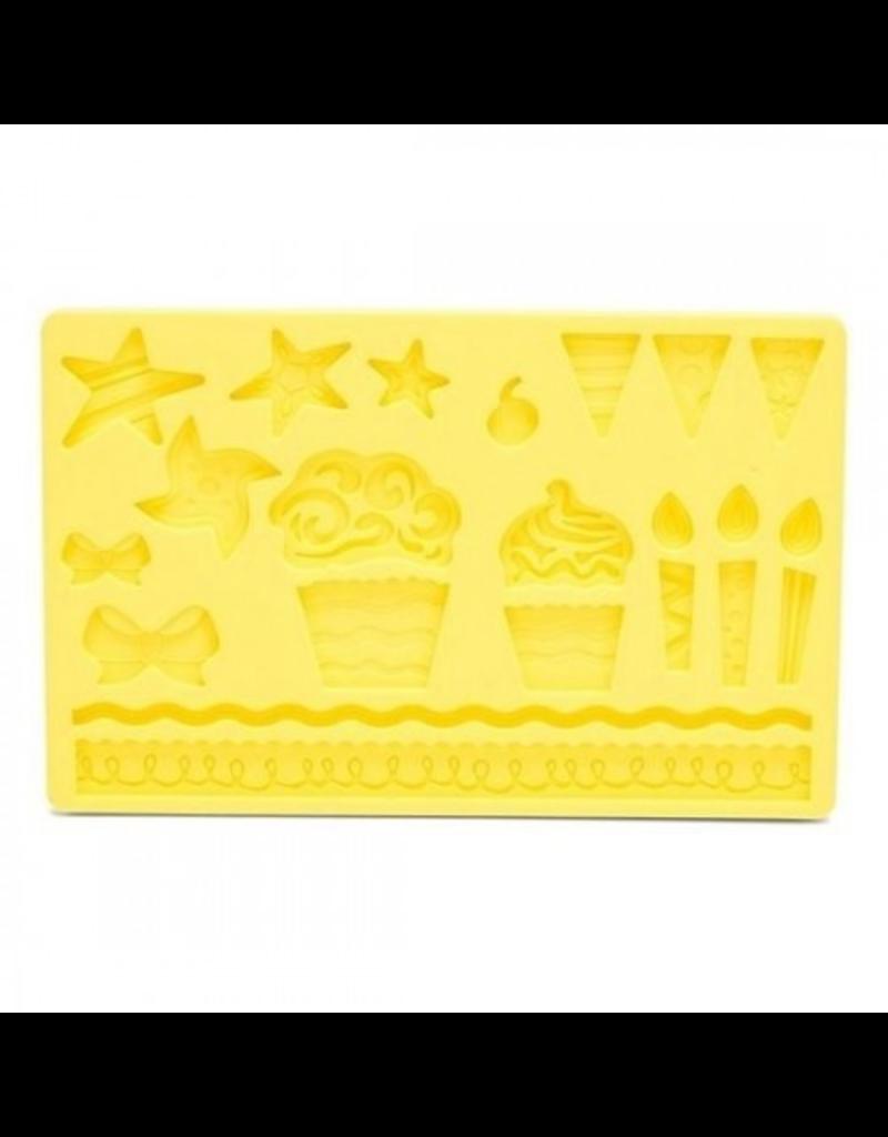 Patisse Siliconen mold cupcake