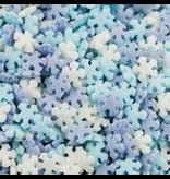 2: Sweet Store Confetti sneeuwvlokken tricolor 60gr