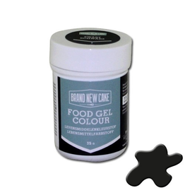 BrandNewCake Kleurstof gel zwart 35GR