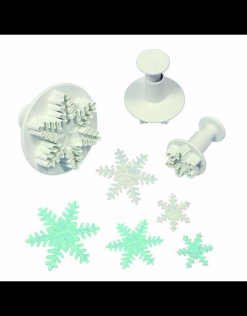 PME Plunger cutter sneeuwvlok set/3