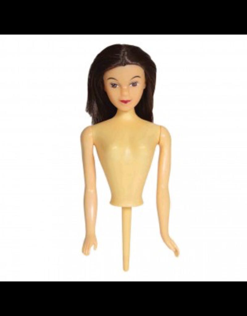 PME Pop Barbietaart brunette