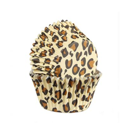 Baked with love Cupcakecup leopard 25st