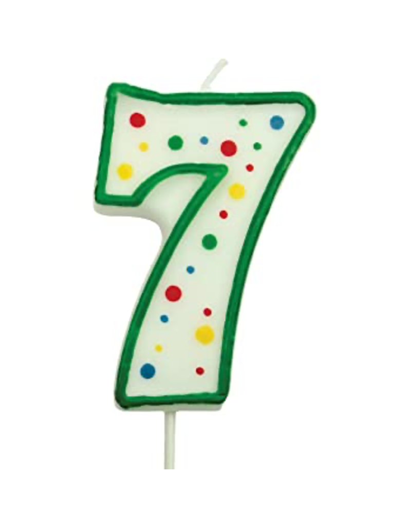 PME Cijferkaars 7 groen