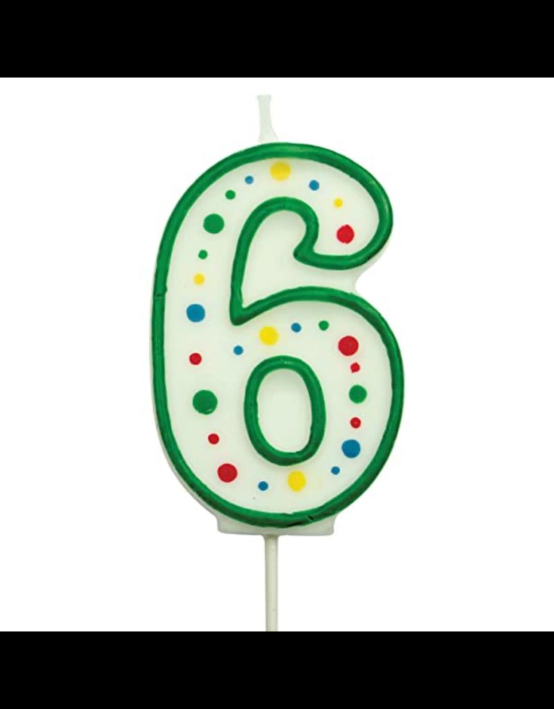 PME Cijferkaars 6 groen