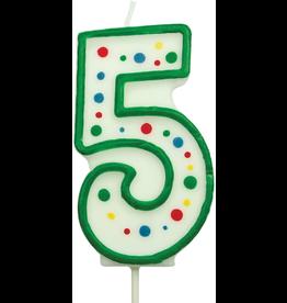 PME Cijferkaars 5 groen