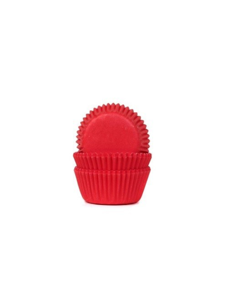 House Of Marie Cupcakecup mini rood 60st