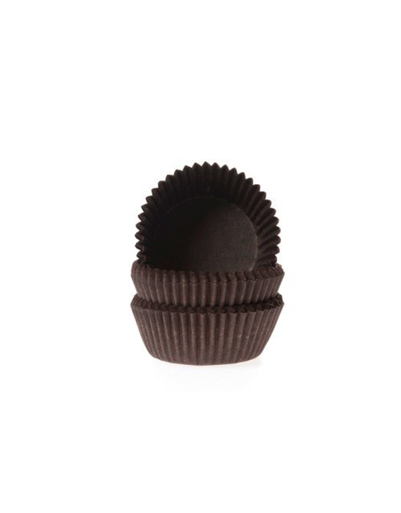 House Of Marie Cupcakecup mini bruin 60st